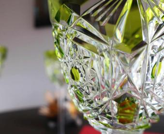 Taille fantaisie cristal ancien baccarat