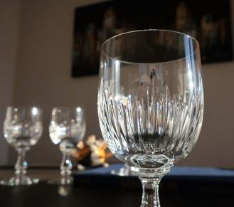 Taille liane verres cristal