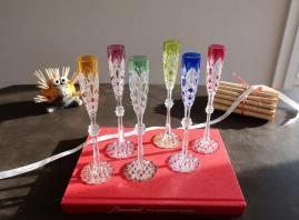 Tsar baccarat crystal glasses