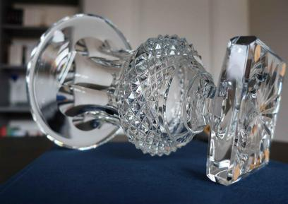Vase versailles cristal clair saint louis