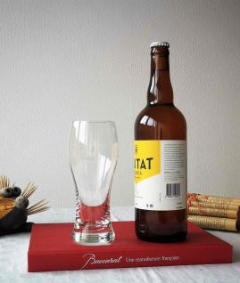 Verre a biere degustation cristal de baccarat