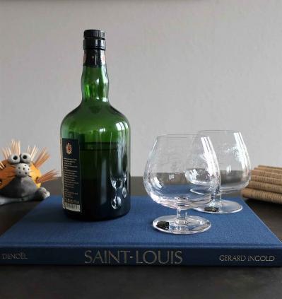 Verre a cognac cleo saint louis