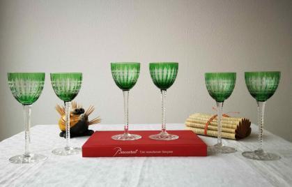 Verre a vin du rhin cristal baccarat