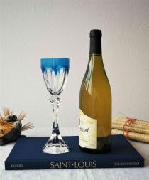 Verre a vin du rhin cristal