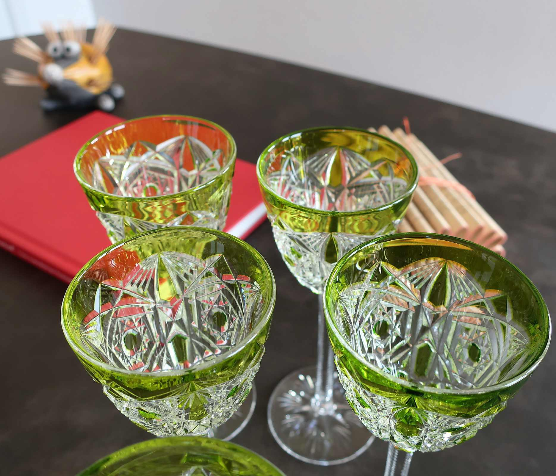 Roemer / Verre à vin du Rhin Lagny, cristal Baccarat