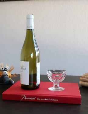 Verre a vin excelsior baccarat cristal
