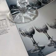 Verre chinon daum cristal