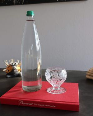Verre eau baccarat cristal art de la table