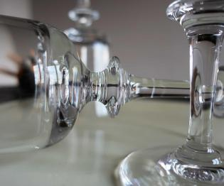 Verre en cristal daum
