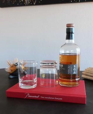 Verre gobelet a whisky en cristal