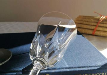 Verre modele cerdagne cristallerie saint louis