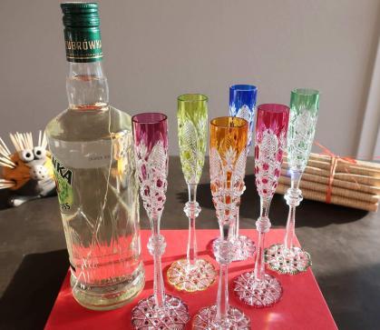 Verre tsar cristal vodka