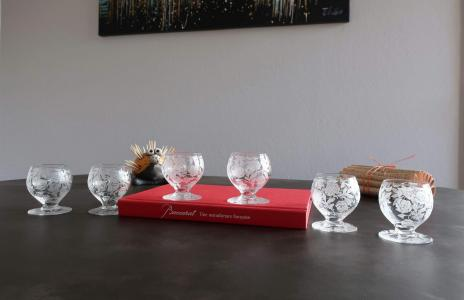 Verre vin baccarat cristal 1