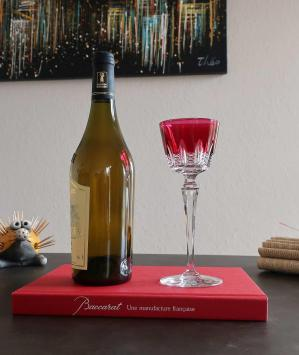 Verre vin du rhin baccarat
