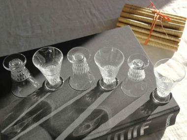 Verres a liqueur cristal