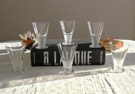 Verres a vin lalique bourgueil