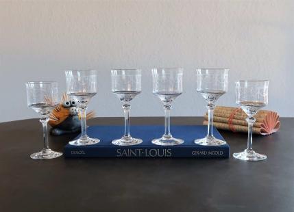 Verres a vin saint louis prix occasion