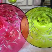 Verres anciens baccarat cristal