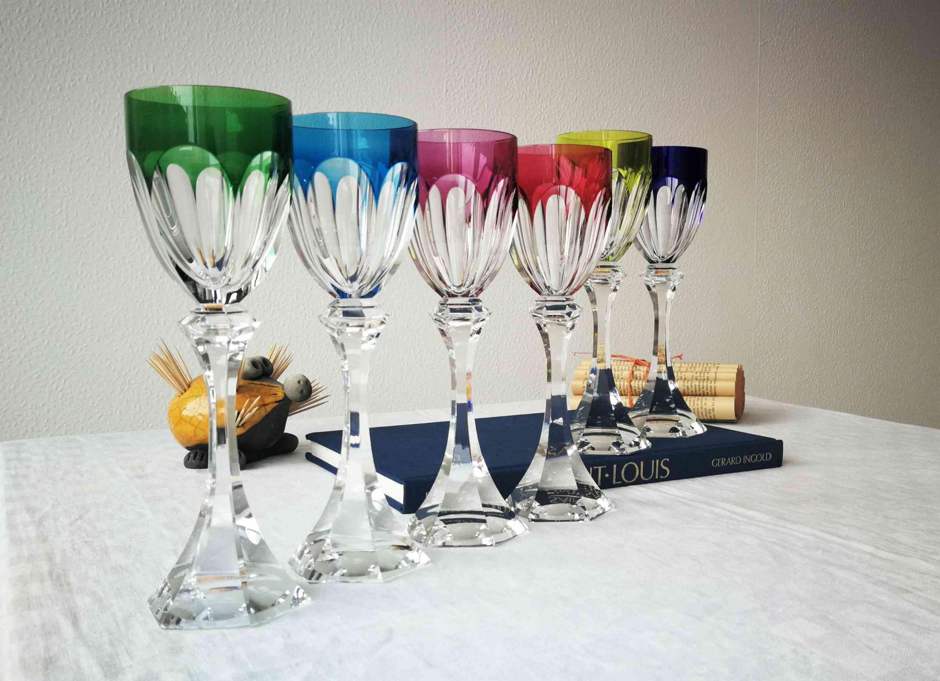 Roemer Chambord, cristallerie Saint Louis