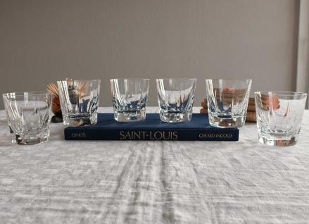 Verres gobelets cerdagne whisky saint louis cristal