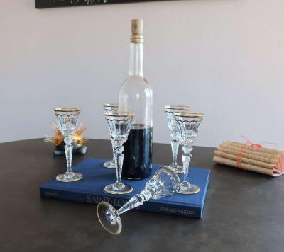 Verres liqueur cristal occasion prix
