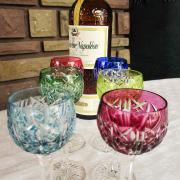 Verres prunelle liqueur saint louis cristal