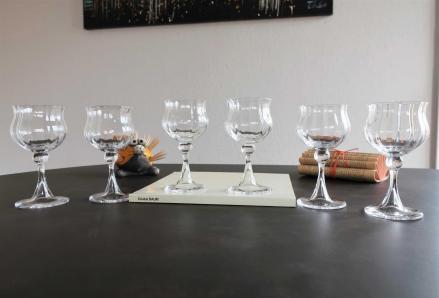 Verres vin verone daum cristal